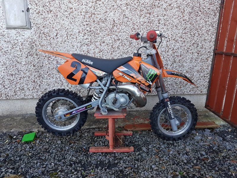 for sale ktm pro junior 50cc mxer. Black Bedroom Furniture Sets. Home Design Ideas