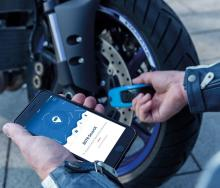 Abus announce Bluetooth connected motorcycle lock