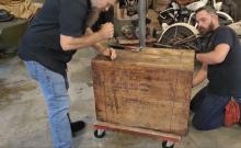 Indian Crate engine unboxed