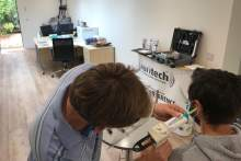 Auritech open studio able to offer custom fittings