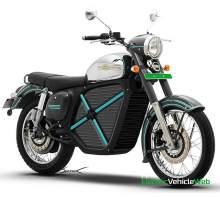 Jawa electric motorcycle